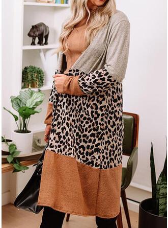 Leopard Casual Cardigan