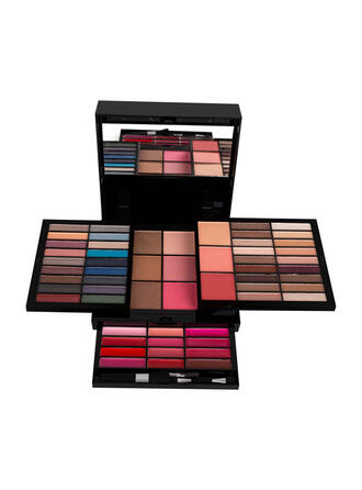 Matte Powder Lip Gloss Eyeshadow Face brushes Blusher With Box