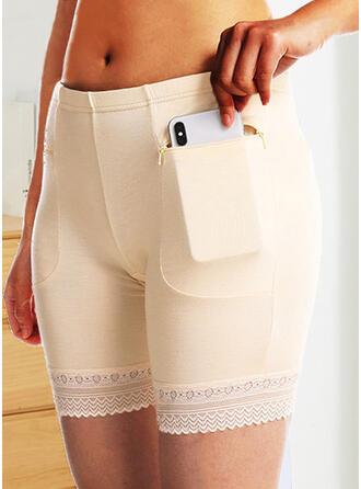 Lace Plain Brief Panty
