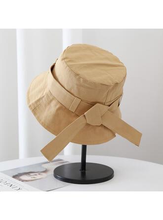 Femmes Style Classique/Simple/Charme Coton avec Glands Chapeau de seau