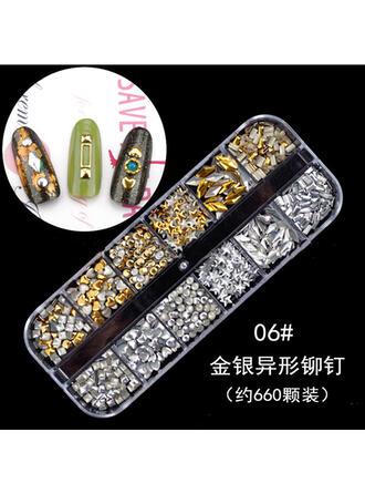 Nail Art Autocollant Décoration d'art d'ongle de feuille d'or