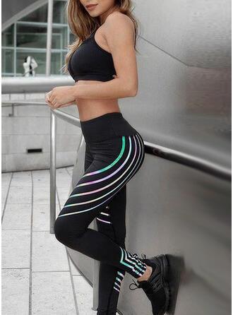 Striped Sports Leggings