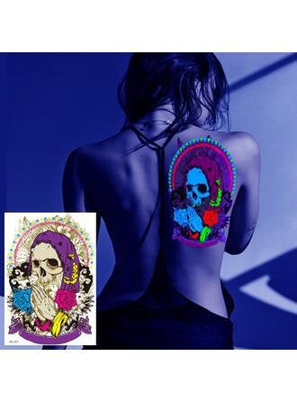 1 pc Enregistrer Autocollant de tatouage