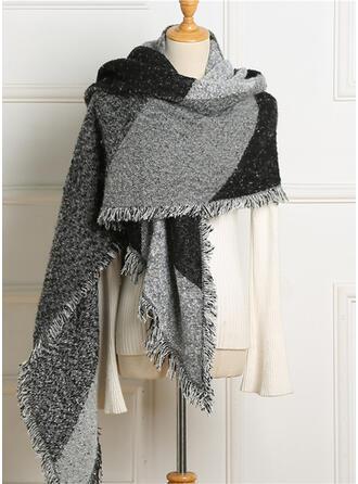 Couleur unie/Couture Énorme/mode/Confortable Écharpe