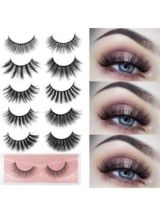 1-pair Sexy Eyelash Lace Mink With PVC Bag
