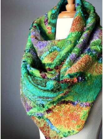 Boêmia/Estampado/Colorido moda/Confortável/Multi cor Lenço