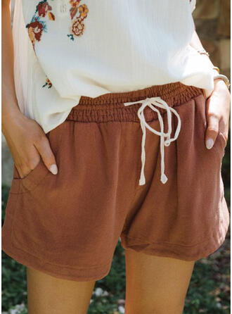 Above Knee Casual Shorts