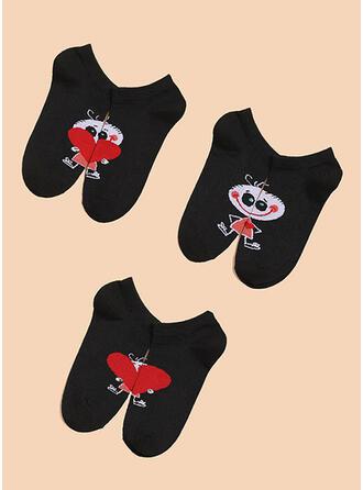 Halloween attractive/Comfortable/Simple Style Socks 3-pairs