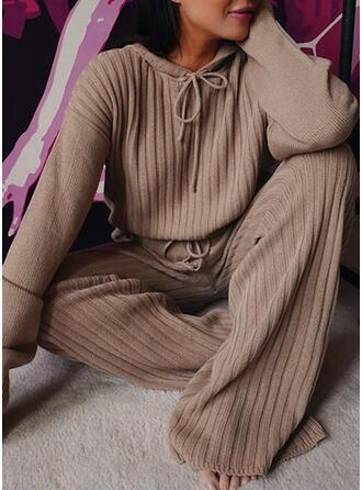 Striped Plus Size Drawstring Elegant Solid Vintage Suits