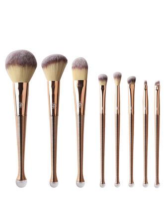 8 PCS Fishtail Rod Plain Nylon Makeup brush sets