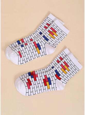 Plaid attractive/Comfortable/Simple Style Socks