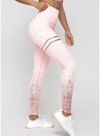 Print Long Skinny Print Yoga Leggings