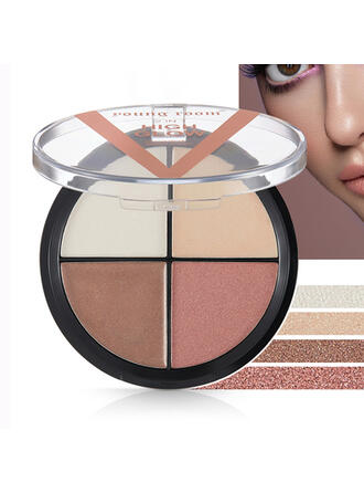 Shimmer Highlight & Bronze Eyeshadow With Box