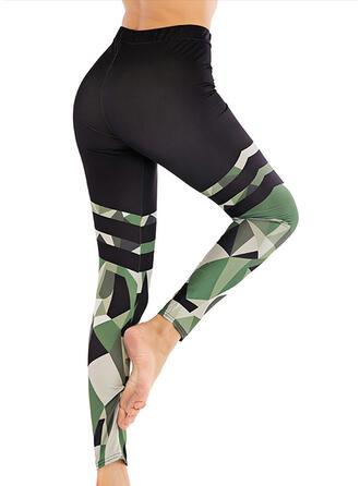 Print Long Casual Pants