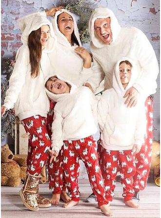 Dessin Animé Imprimé Tenue Familiale Assortie Pyjama De Noël