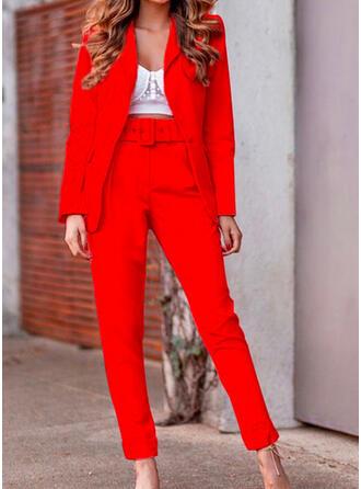 Solid Elegant Suits